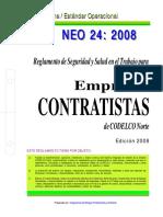 NEO 24 -2008 REGLAM SEG SALUD EN EL TRABAJO PARA EMPRESAS.pdf