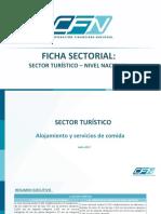 Ficha Sectorial Turismo