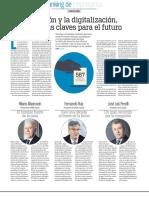 """""""La innovación y la digitalización, herramientas claves para el futuro"""""""