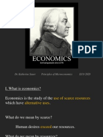 Principles of Microeconomics - Lecture - Introduction
