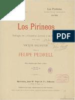 Los Pirineos PEDRELL