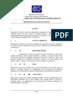 Descripción Del Plan de Cuentas Republica Dominicana