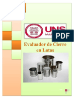 Evaluacion de Cierre en Latas (1)