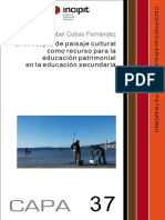 CAPA 37 revista el concepto de paisaje cultural