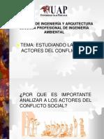 Analizando Los Actores Del Conflicto Social-2