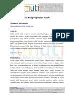 Muhamad Burhanudin-Mengenal Bahasa Pemprograman Scilab