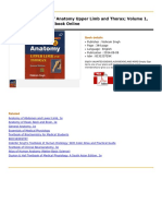 Textbook of Anatomy Upper Limb 1