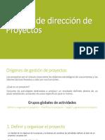 Manual de Dirección de Proyectos