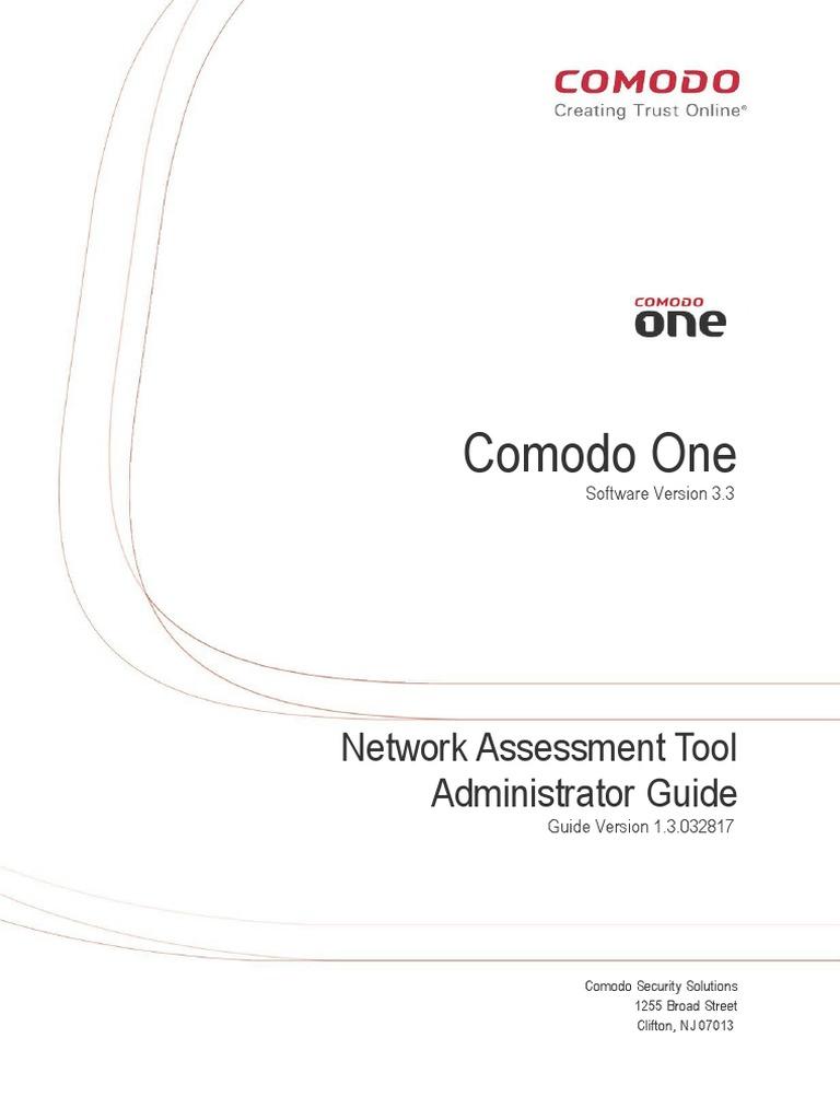 Comodo Network Assessment Tool 3 3 Admin Guide   Active