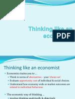 3. Thinking Like an Economist