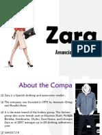 Sales Presentation - Zara