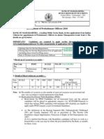 Bom Probationary Officers