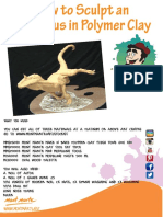 Allosaurus Tutorial escultura