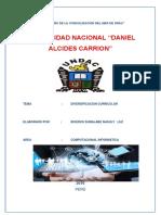 """Universidad Nacional """"Daniel Alcides Carrion"""""""