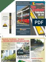 MULTISENAL ESTACIONAMIENTOS TOPE CANALIZADOR PUBLCITARIO CN 184