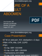 Closure of a Difficult Abdomen