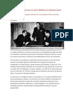 CAPABLANCA Capablanca Inclina Su Rey Ante Alekhine en Buenos Aires