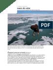 ECOLOGÍA Alaska Se Muere de Calor