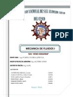 INFORME DE LABORATORIO - FLUIDOS I