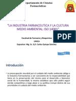 La Industria Farmaceutica y La Cultura Medioambiental