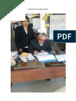 Firma Del Acta de Instalacion