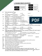 Chemistry Test # 1 (R1) 02-10-13 (Fahad Sb.)