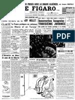 Le Figaro du 26 octobre 1956