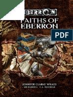 3.5 - Eberron - Faiths of Eberron.pdf