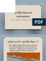 Scribe Line en Aeronaves