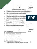 Chemistry Test # 2 (R2) 12-10-13