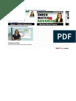 Index Match Basics Excel Free WorkBook Xelplus
