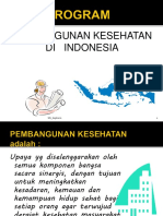 Progr Pemb Kes Di Indonesia