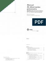 Vitor Da Fonseca. Manual de Observación Psicomotriz. Significación Psiconeurológica de Los Factores Psicomotores
