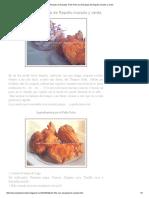 Las Recetas de Norellys_ Pollo Frito Con Ensalada de Repollo Morado y Verde