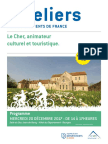 Ateliers des départements de France