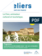 Ateliers des départements de France