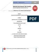 Filiacion Matrimonial y Union de Hecho Resumen