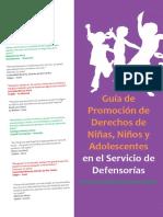 Lectura 10 - Guía de Promoción de Derechos de NNA