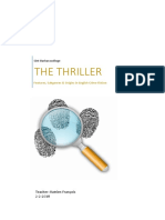 the thriller - features subgenres and origins in english crime fiction slo final version 2