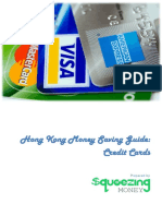 Hong Kong Money Saving Guide Credit Card Squeezing Money