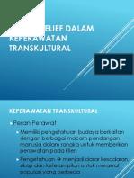 Health Belief Dalam Keperawatan Transkultural