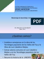 Metodoligia de Aprendizaje de Servicio (2) Unidad Curricular V
