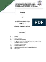 Instalaciones Electricas 077c 2017-II