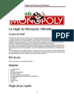 La Règle Du Monopoly