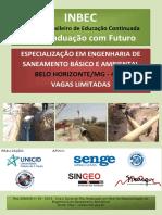Engenharia de Saneamento Básico e Ambiental - 400h - Inbec Mg