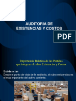 Existencias y Costos 1