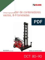 Manipulador de contenedores DCT 80-90