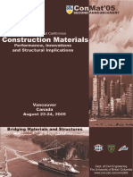 Construction Materials-3rd International conference