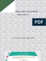 1/3. Introducción Al Modelo Educativo. México. 2017