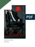 Un Acuerdo Con El Diablo - Mia Del Valle